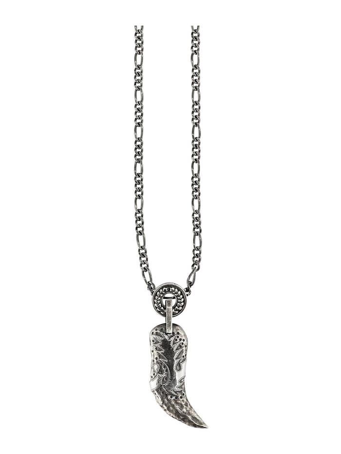 CAI Caï Herren-Herrenkette 925er Silber, silber