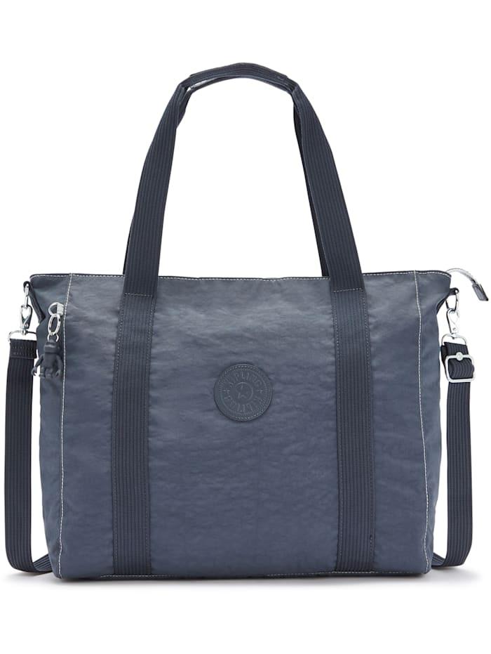Kipling Basic Asseni Shopper Tasche 49 cm, grey slate