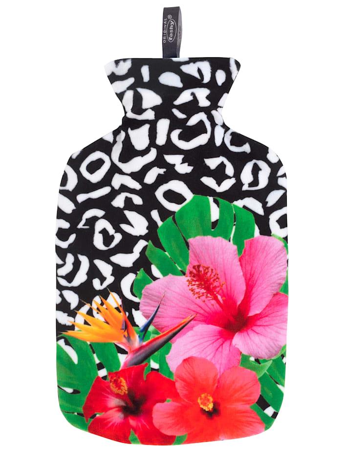 Fashy Wärmflasche PopArt, schwarz bedruckt