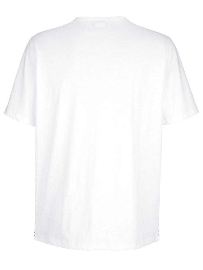 Tričko s výstřihem do V
