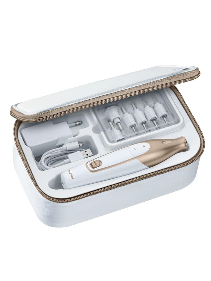 Coffret manucure/pédicure rechargeable MP64 avec 10 embouts