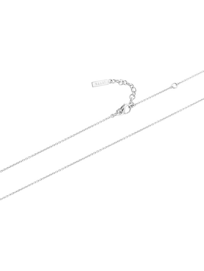 JETTE Damen-Kette 925er Silber rhodiniert 25 Zirkonia