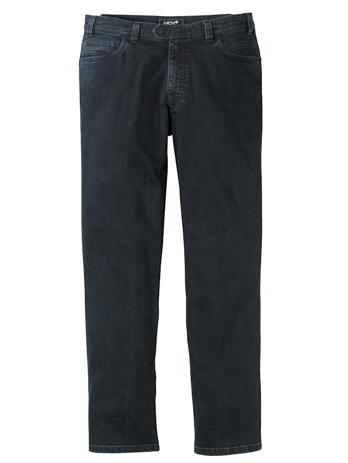 Men Plus Swing-Pocket Jeans Spezialschnitt, Dunkelblau