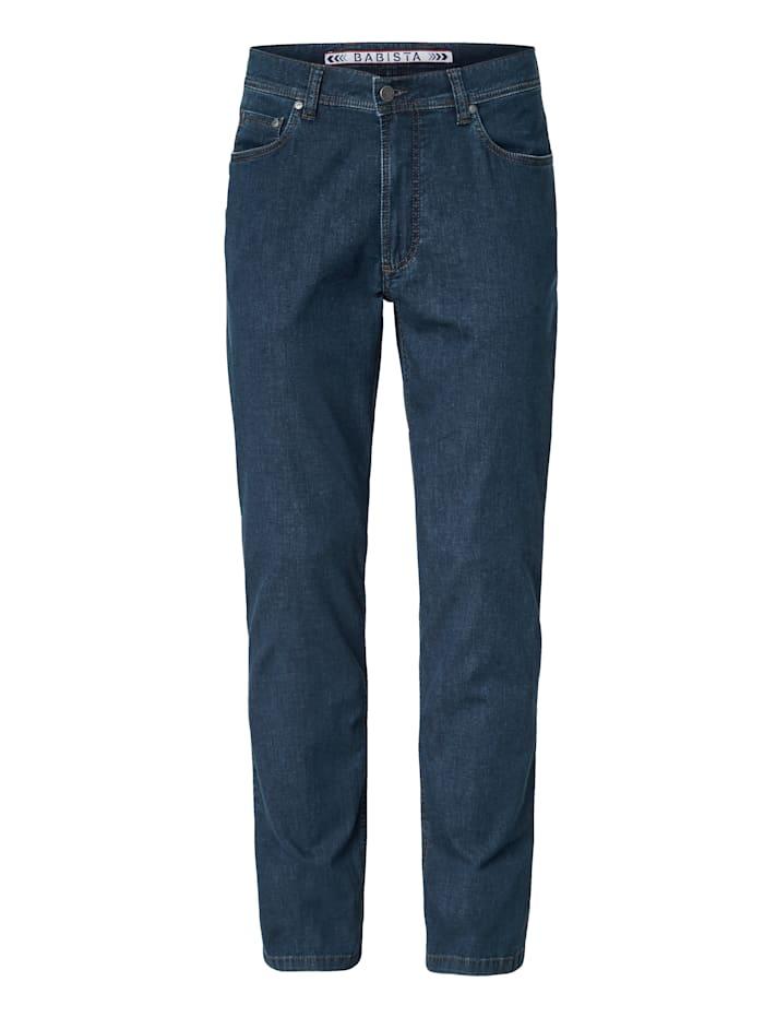 BABISTA Jeans met lycra-technologie, Blauw