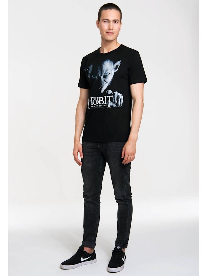 Print T-Shirt The Hobbit – Gollum mit lizenziertem Originaldesign