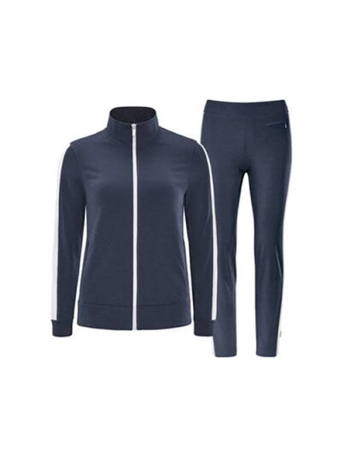 Schneider Sportwear Schneider Sportwear Trainingsanzug SOLEW, Dunkelblau