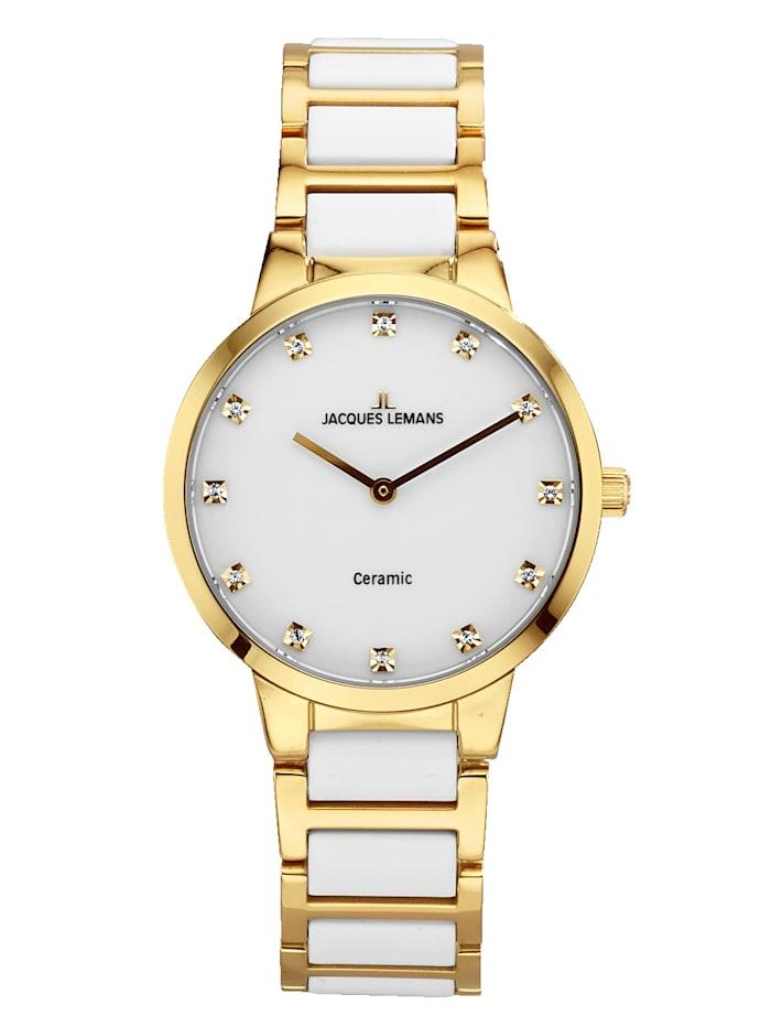 Jacques Lemans Dámske hodinky Séria: Dublin, 1-2045B, Biela