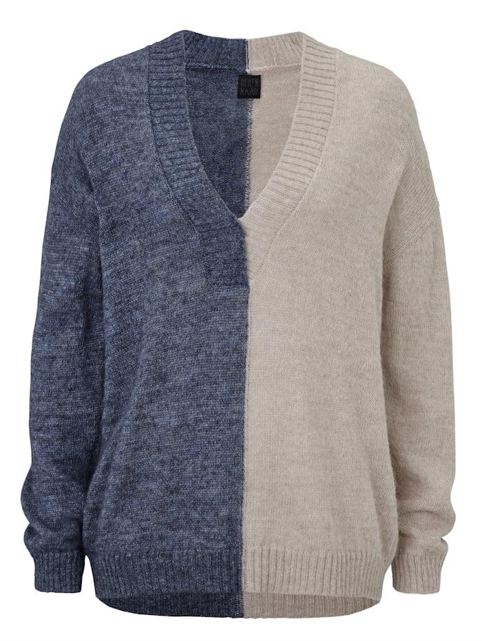 REKEN MAAR Pullover, Blau