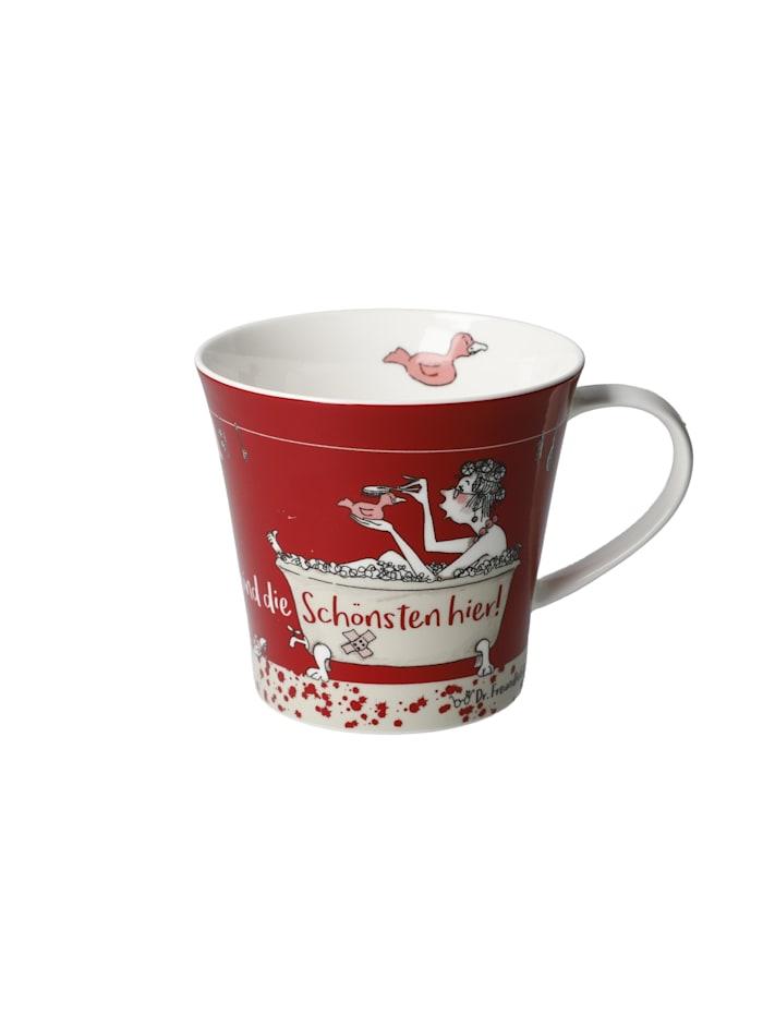 Goebel Goebel Coffee-/Tea Mug Barbara Freundlieb - Wir sind die Schönsten, Bunt