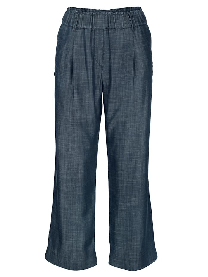 Pantalon 7/8 en matière Tencel