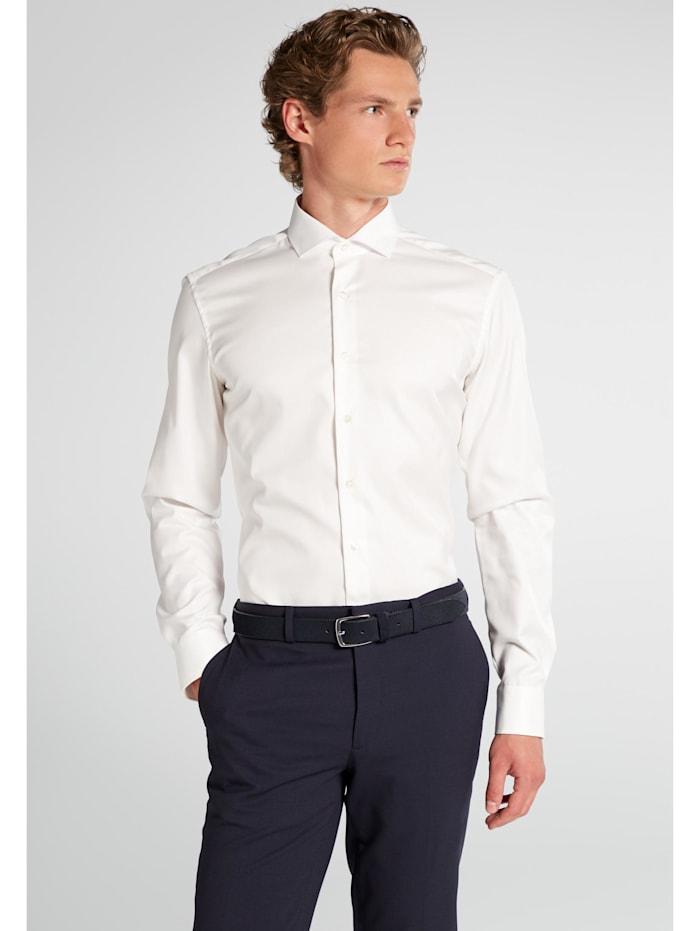 Eterna Eterna Langarm Hemd SLIM FIT, beige
