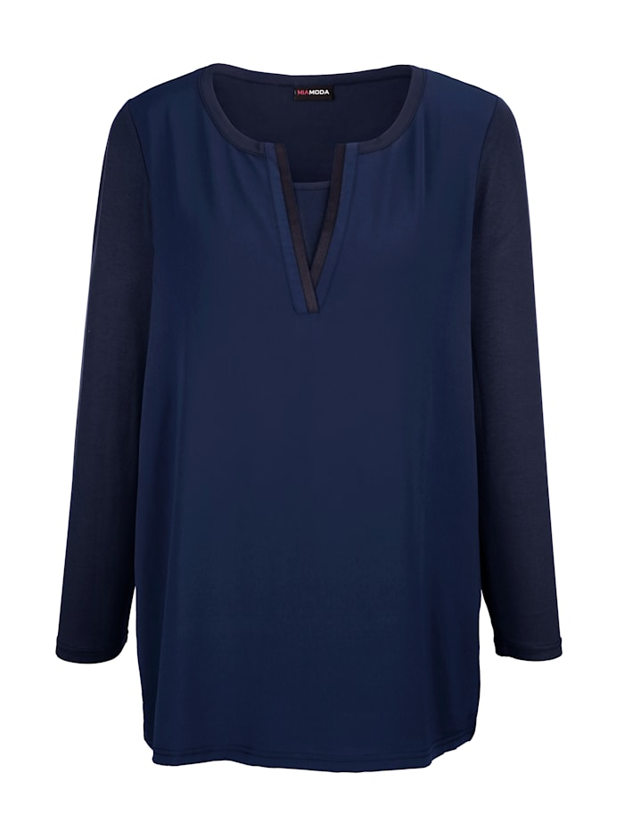 2-in-1 Shirt mit integriertem Top