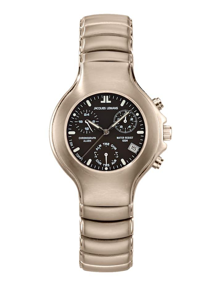 Jacques Lemans Damen-Chronograph Uhr 1-901A KOLLEKTION CLASSIC, Grau