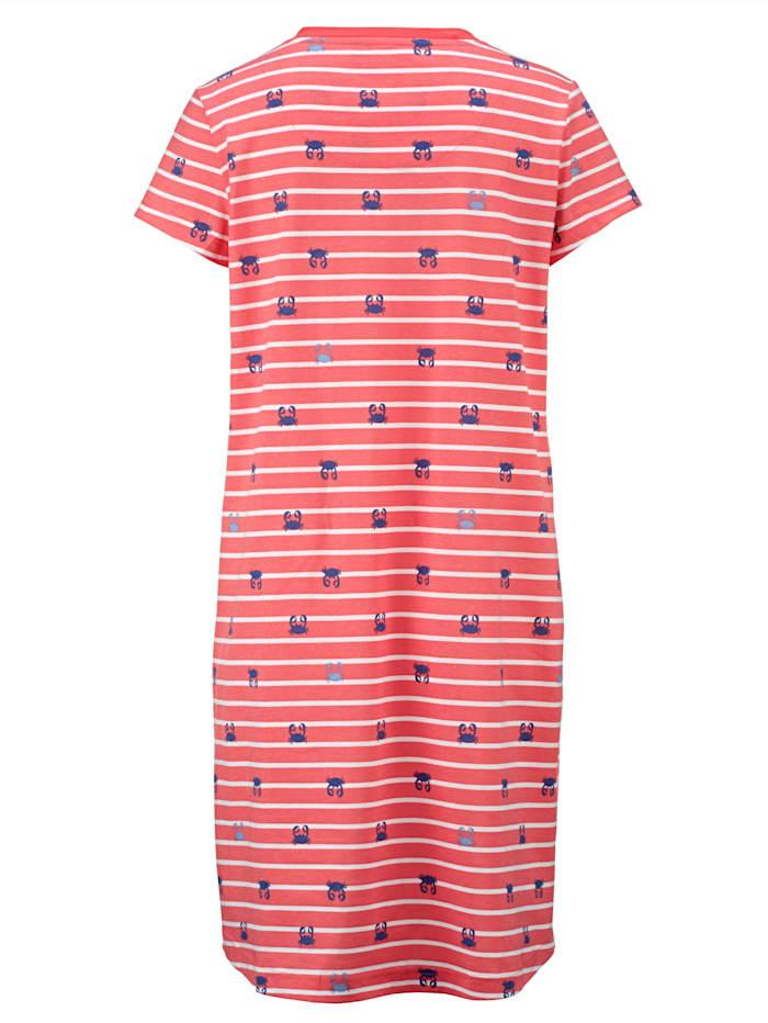 Nachthemd im sommerlichem Streifen-Dessin