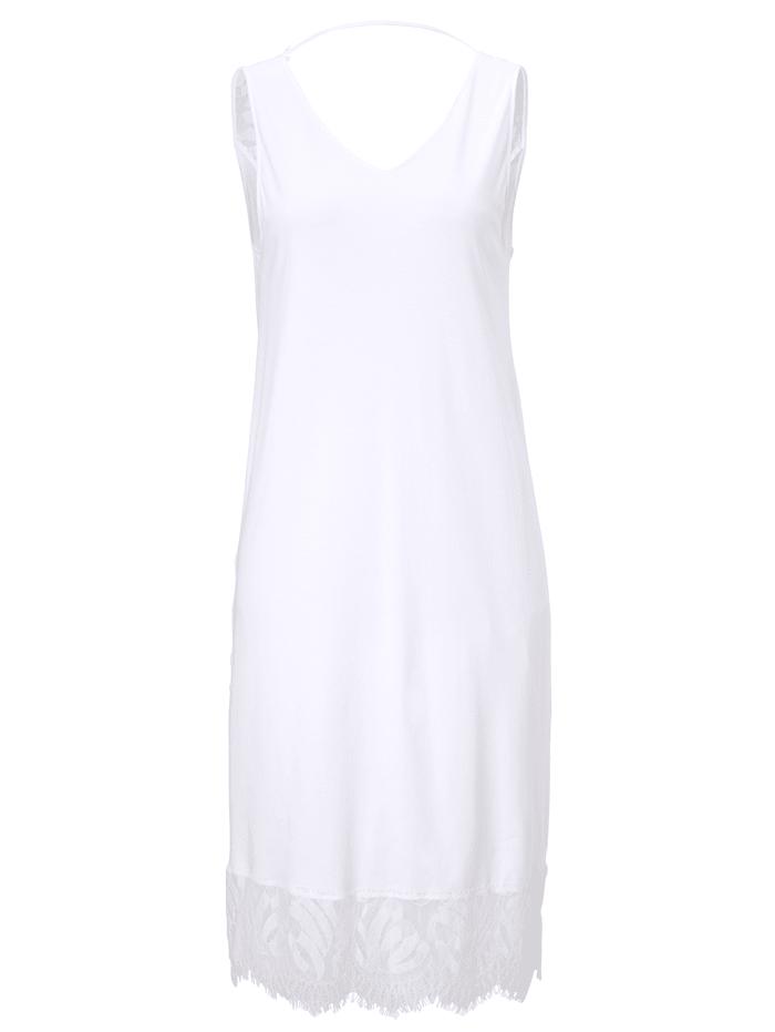 Hanro Nachtkleid, Weiß