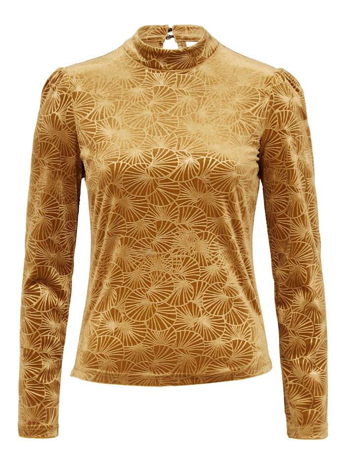 SIENNA Shirt, Goldfarben