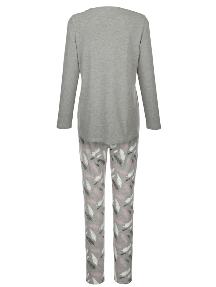 Sulkakuvioitu pyjama