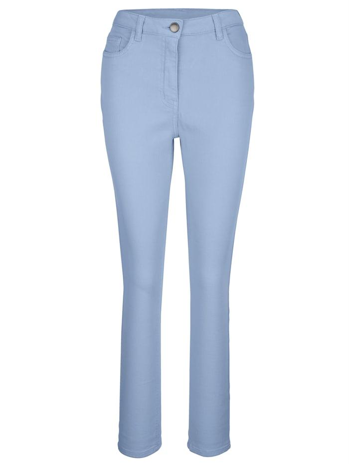 Pantalon partiellement extensible en grandes tailles