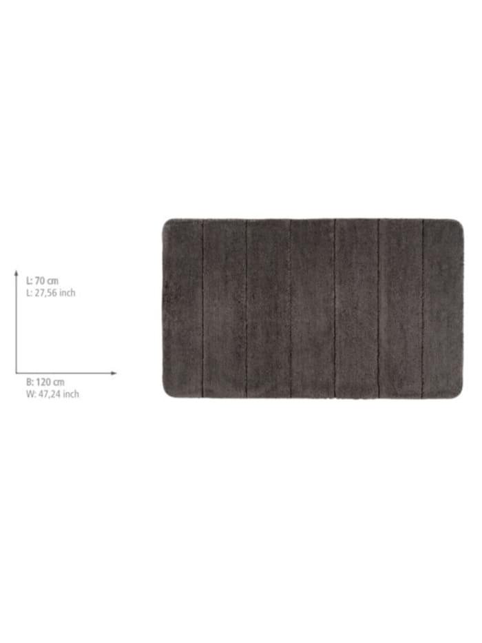 Badteppich Steps Mouse Grey, 70 x 120 cm, Mikrofaser
