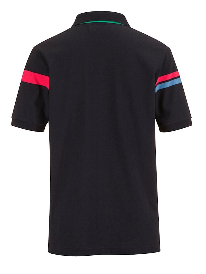 Poloshirt mit grafischem Muster