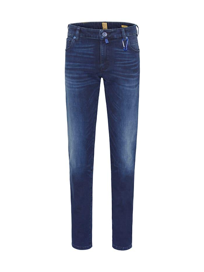 Meyer Hosen Slim Jeans aus der M5 by MEYER Serie, Marine