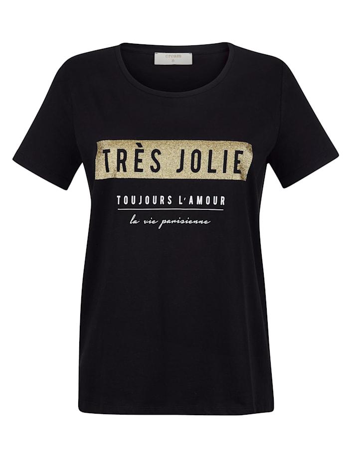 Shirt mit Folien-Druck