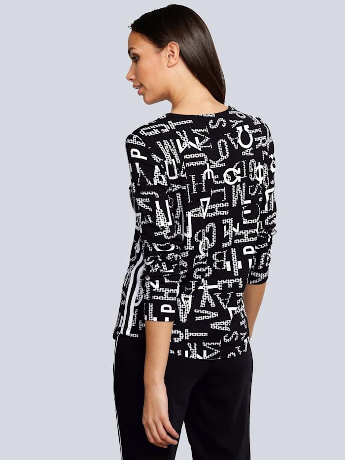 Shirt mit Buchstaben-Print