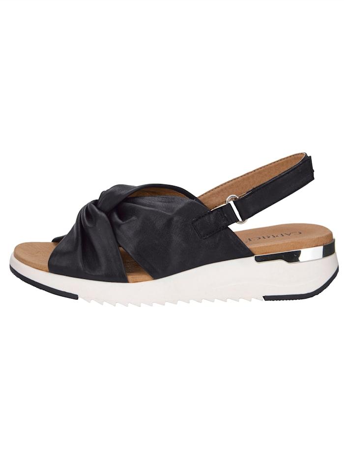 Sandale in moderner Schlaufen-Optik