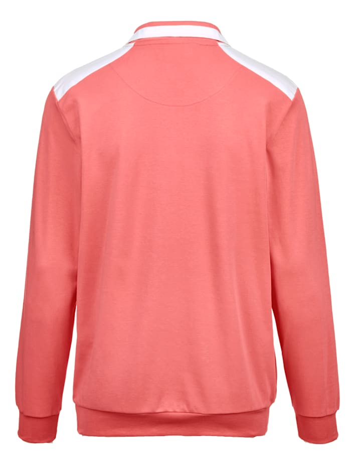 Sweatshirt in zomerse kleuren