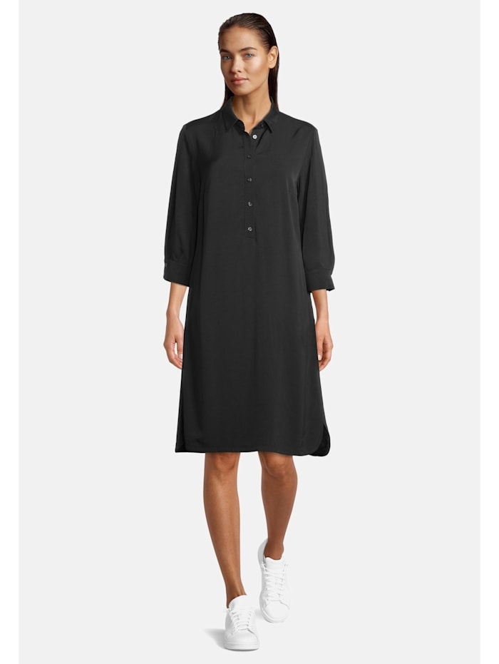 Betty Barclay Hemdblusenkleid mit Knopfleiste, Schwarz