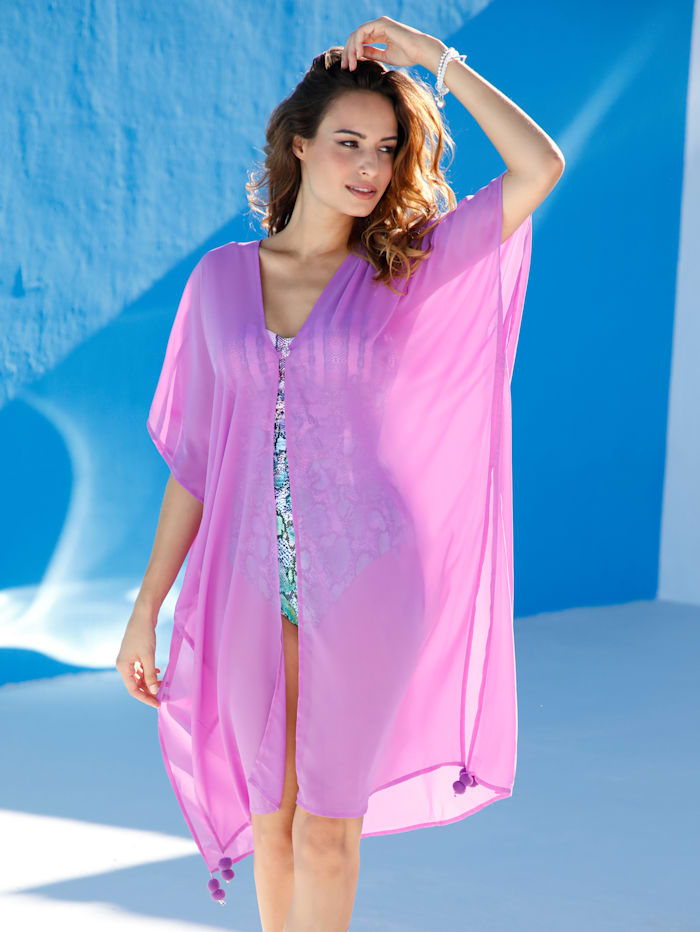 Cover up in a longline silhouette
