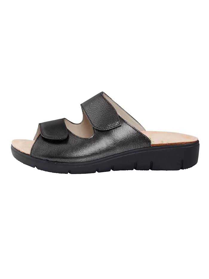 Nazouvací obuv s nastavitelným suchým zipem