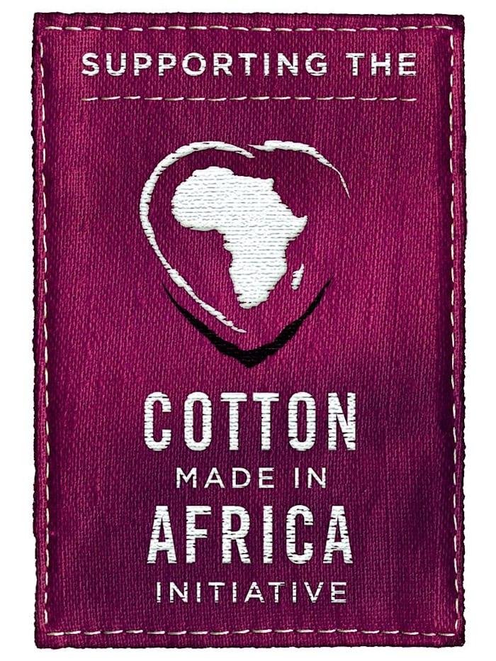 Bh-toppar i bomull från Cotton made in Africa-programmet