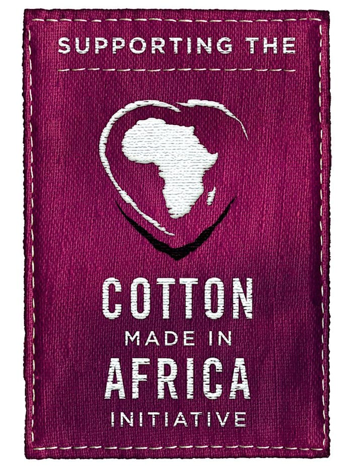 """BH-topper fra """"Cotton made in Africa""""-serien"""