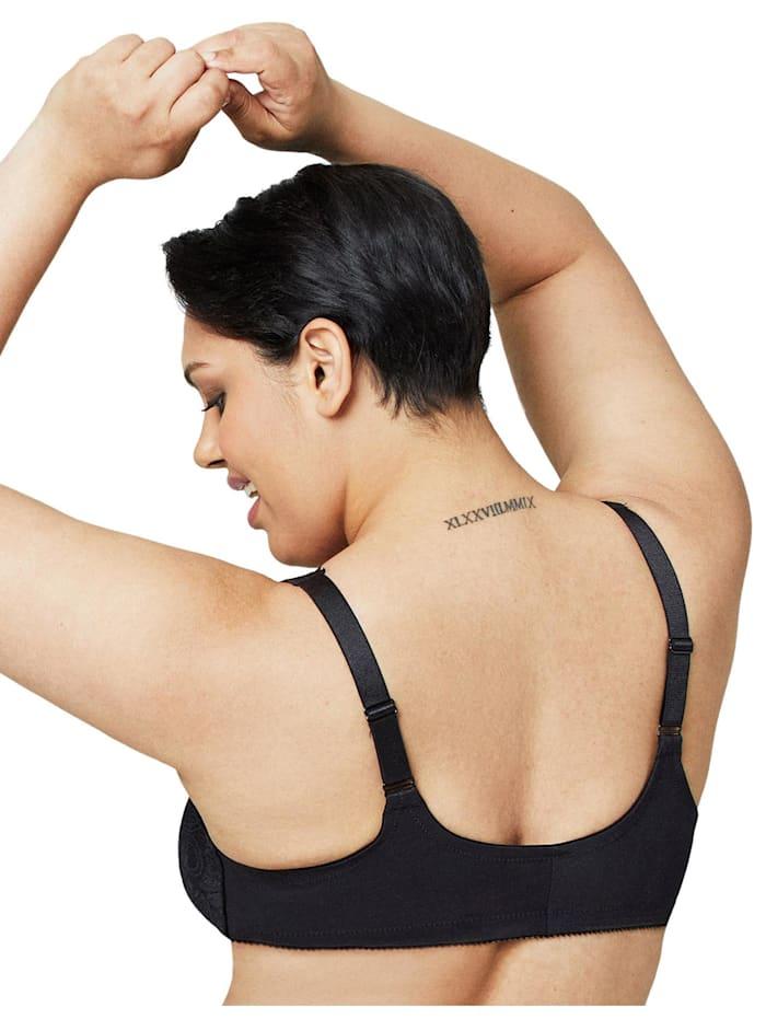 Vorderverschluss-BH mit Stretch und Spitze