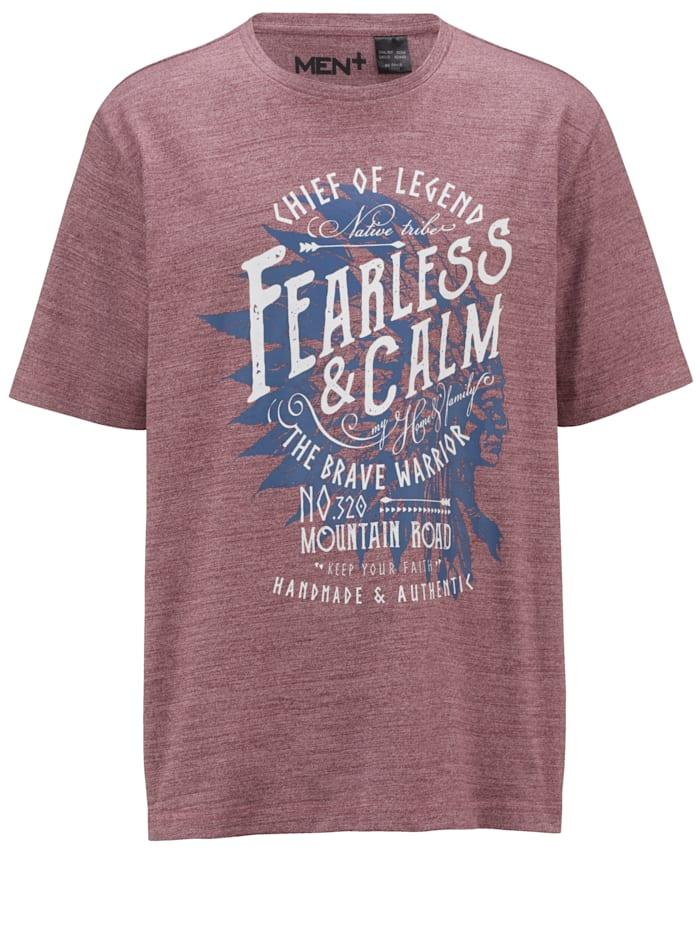 T-skjorte i melert stil