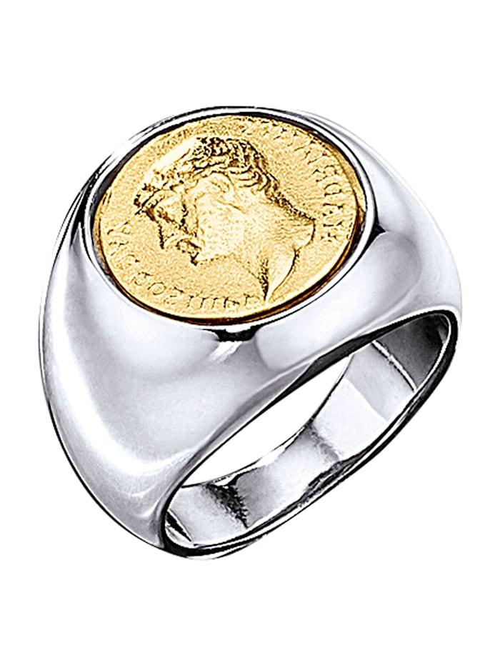 Herrenring mit Münze