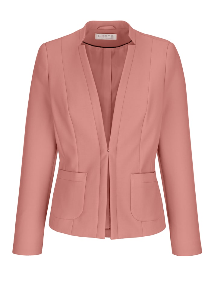 Blazer made from a two-way stretch fabric