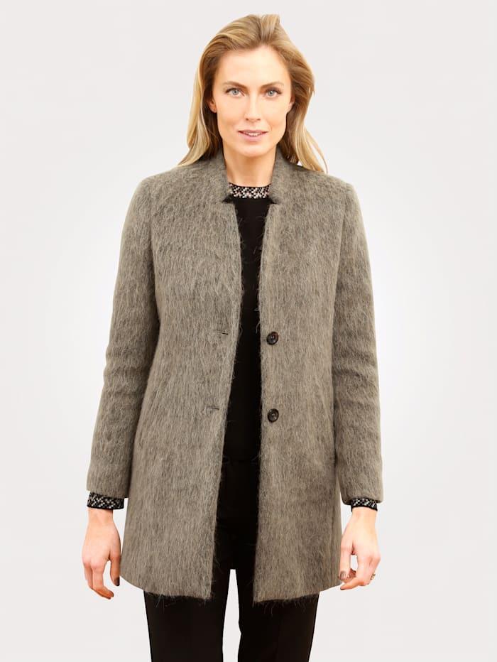MONA Veste en laine mélangée, Beige