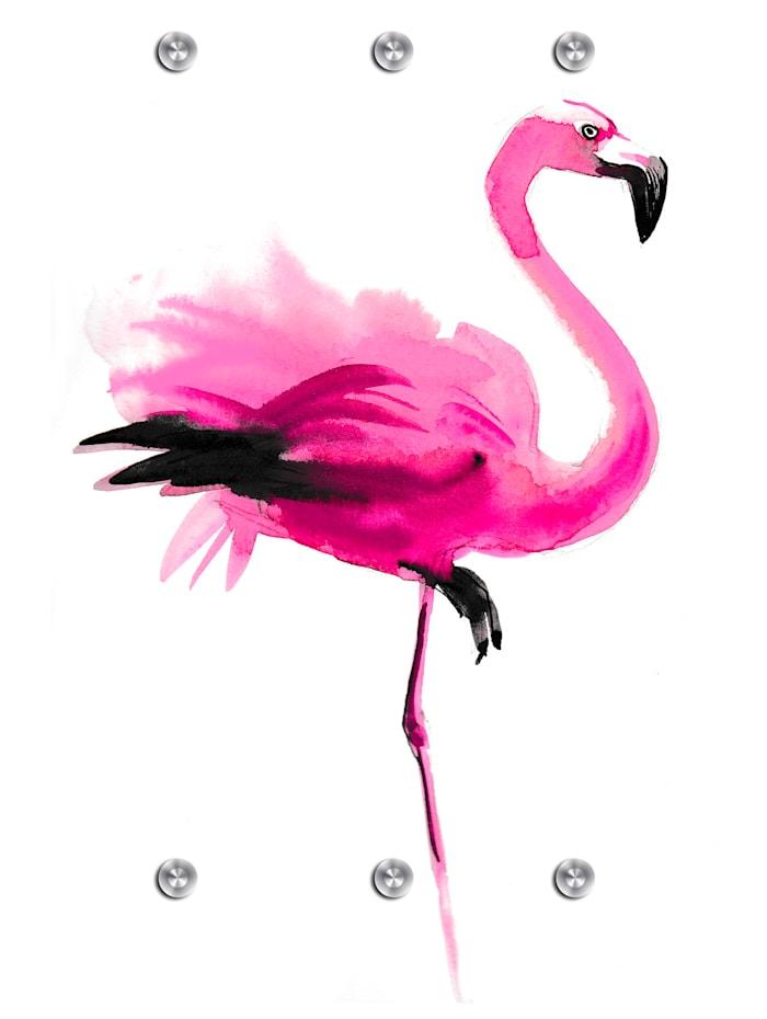 IMPRESSIONEN living Garderobe, Flamingo, Bunt