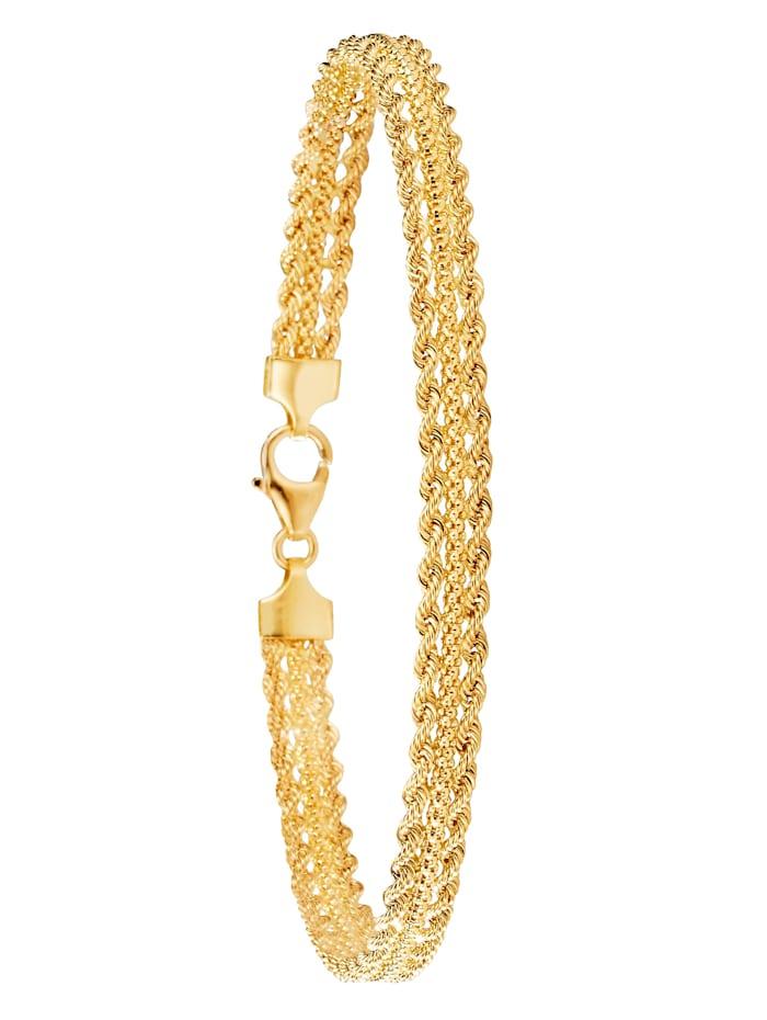Diemer Gold Armband in Gelbgold 750, Gelb