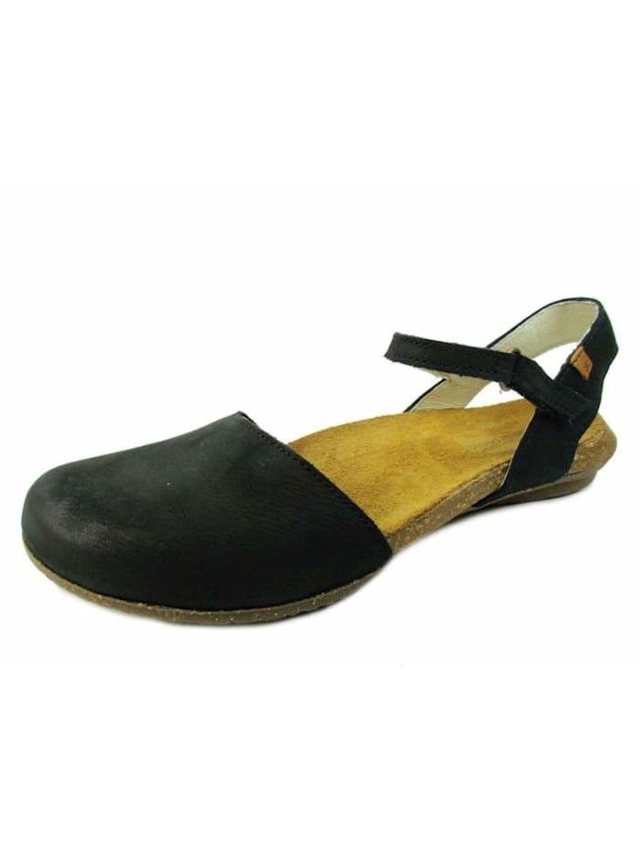 El Naturalista Sandalen/Sandaletten, schwarz