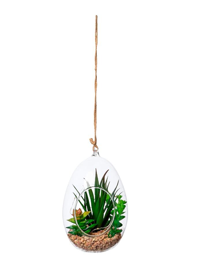 Globen Lighting LED-Sukkulenten Hänger, Grün