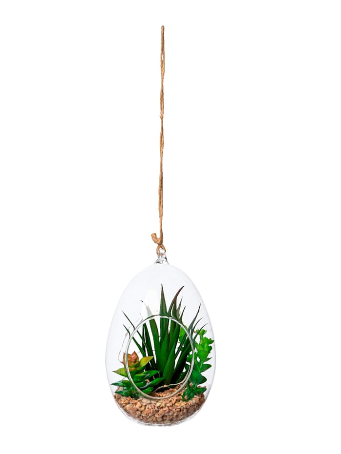 Globen Lighting Suspension succulentes à LED, Vert