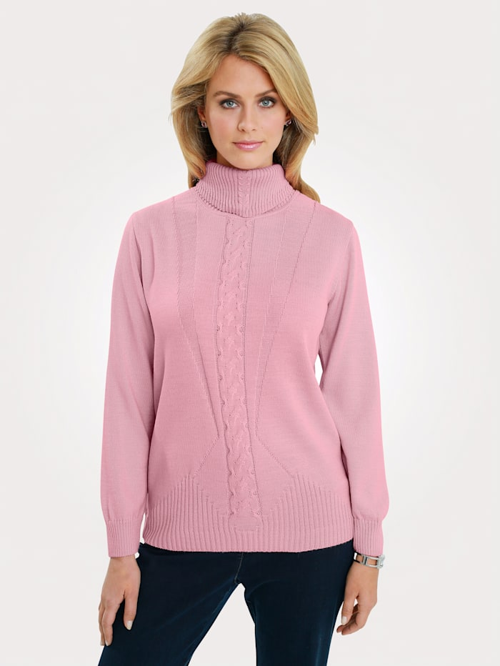 Jumper with cable knit