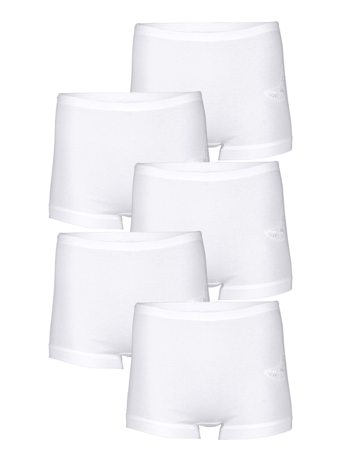 Viania Lahkeelliset alushousut, Valkoinen