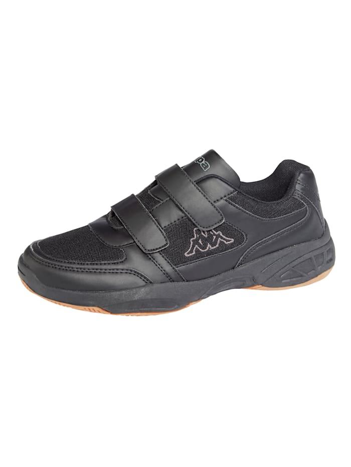 Kappa Sportschoen met zool geschikt voor binnensport, Zwart