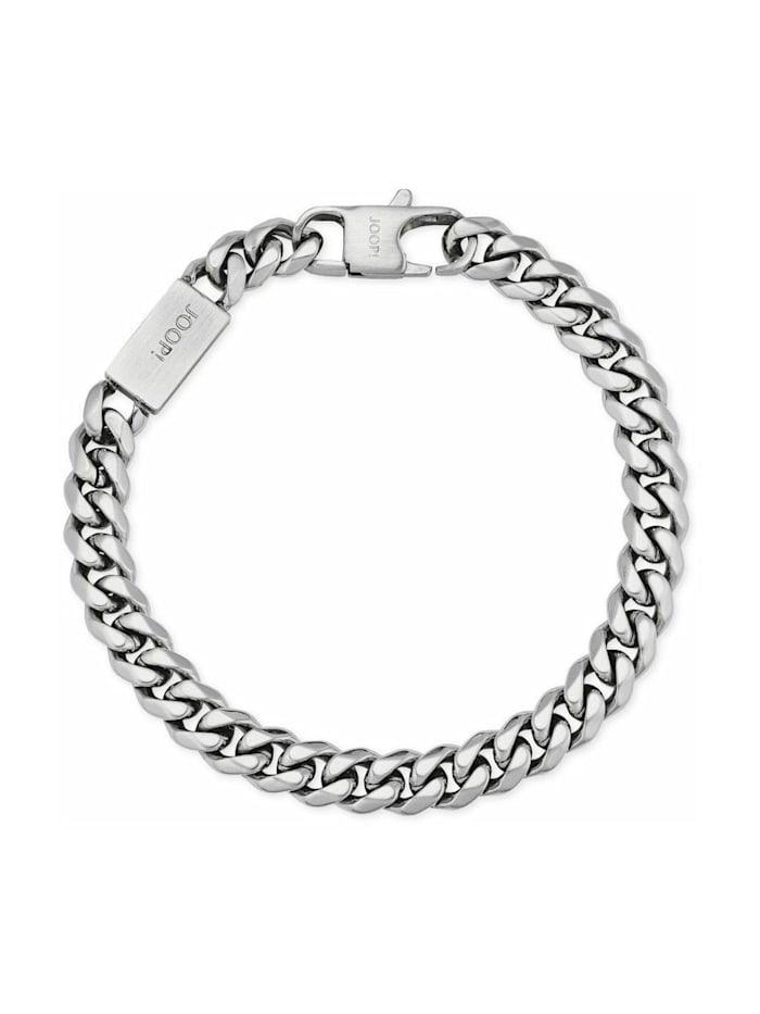 JOOP! Armband für Herren, Edelstahl, Silber