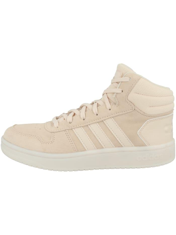 Adidas Originals Sneaker mid Hoops 2.0 Mid W, beige