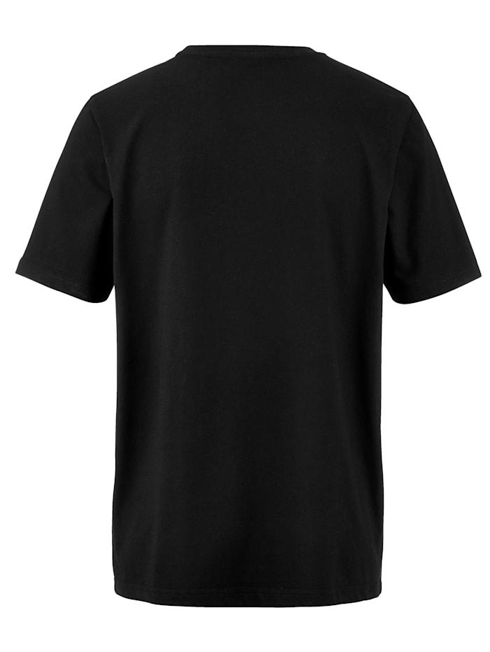 T-skjorte med moteriktig trykk